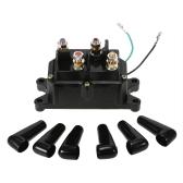 12V solenoid relay contactor winch rocker switch thumb for ATV UTV universal kit