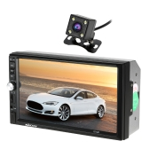 KKmoon 7 inch Universal 2 Din HD BT Car MP5 Radio Player with Rear View Camera
