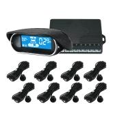 Sensores de estacionamento Sensores Eletrônicos Carros Estacionamento Assistência Radar de reversão Detector de carros Estacionamento Estacionamento Estacionamento
