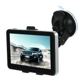 5 inch Car GPS Navigation Navigator Touchscreen Voice Announcement DDR128M + 4GB
