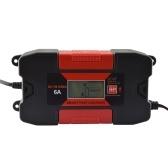 Carregador de bateria esperto de RoHs do carro de 6A 12V Auo com CE