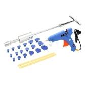 Набор для ремонта инструмента для ремонта автомобильных красок для ластиков с вкладышем для пускового молотка + 100-240 В 100 Вт Клей для клея с клеем