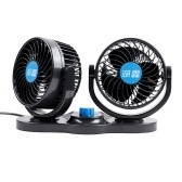 12V Fan Cooling Air Fan Powerful Dashboard Car Fan 5 Inches in Diameter