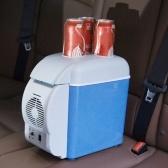 Przenośna lodówka samochodowa o pojemności 7,5 litra Cieplej ciężarówka elektryczna z uchwytem na rowek na pokrywie