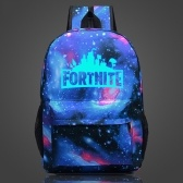 FORTNITE Night Luminous Bag Glow Plecaki 21L do jazdy konnej Gaming Travelling Cycling