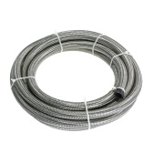 AN-6 AN6 Stainless Steel Braided Fuel Hose Oil Cooler Hose 3M