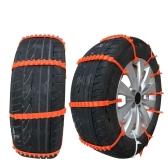 10pcs Lot Car Universal Mini Plastic Winter Tyres wheels Snow Chains