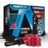 Nighteye H1 60W/set 10000LM Car   LED Headlights  Fog Lamps 3000K 6500K 8000K Plug-N-Play