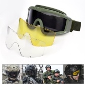 Military Airsoft Tactical Goggles Shooting Glasses Motorcycle Windproof   Wargame Goggles