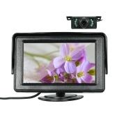 4.3-дюймовый TFT-дисплей с цветным дисплеем Автомобильный ЖК-монитор Dashiboard Screen Parking Monitor