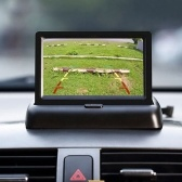 "4.3"" Foldable Car TFT LCD Monitor Wireless Backup Camera Parking System"