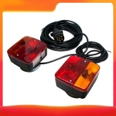Magnety Tow Light Rear Trailer Lights Kit for Boat Trailer RV Truck 4.5m Cable