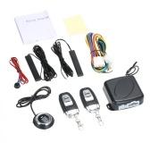 Sistemas de alarma para automóviles Interruptor SUV para automóvil Entrada sin llave Arranque del motor Sistema de alarma Botón de arranque remoto Parada automática Sistema antirrobo sin sensor de vibración