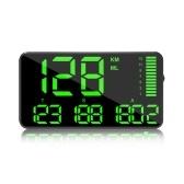 C90 5,5-дюймовый автомобильный дисплей на лобовом стекле, спидометр, дисплей скорости для автомобиля, автоматическая сигнализация превышения скорости, Hud дисплей, автомобильный дисплей Hud