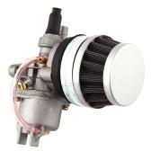 Carburador con filtro de aire Reemplazo del filtro de combustible para Mini motocicleta Dirt Bike ATV Scooter con motor 47CC 49CC