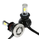 One Pair of 40W 4000LM H7 LED Light Headlight Fog Light 12V 24V Car Upgrade Conversion Bulb Beam Kit 6000K White