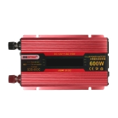600W WATT Peak Car LED Power Inverter DC 12V to AC 110V Dual Converter Charger