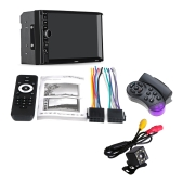 Rádio sem fio Auto rádio player estéreo Universal 7in Touch Screen Car MP5 Player 7018 PLUS