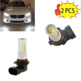 2 Pcs High Power COB LED Fog Light 9006 Carro Driving Lamp 80W