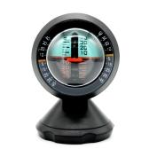 Inclinómetro del vehículo del vehículo Inclinación del ángulo Indicador de inclinación Medidor de nivel Gradient Balancer Actualizar y degradar Slopemeter Finder Tool