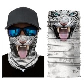 Cool Robot Skeleton Halloween Mask Scarf Joker Headband Balaclavas