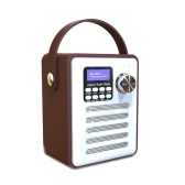 BT DAB / DAB + Digitaler FM-Radio-Lautsprecher mit Stereo-Sound-Wecker MP3-Player