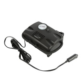 DC 12V Portable Air Compressor 260PSI Tire Inflator Pump for Car Bicycle Motorcycle