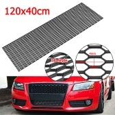 "Universal Black Honeycomb Hexagon Mesh ABS Grille Fog Custom 47""x16"" for Benzs for Audis"