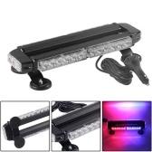 30W LED Amber Double Side Traffic Advisor Strobe Flashing Light Emergency Lights
