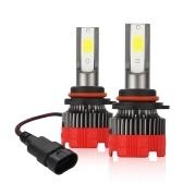 Bulbo de farol de LED 2pcs Bulbo de farol de halogênio de alto desempenho, farol alto, farol baixo e lâmpada de reposição de nevoeiro