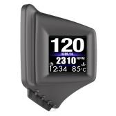 Coche HUD Display OBD + GPS Smart Gauge Velocímetro de alta definición Herramienta de diagnóstico del coche