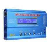 80W 6A Lipo Battery Balance Charger Discharger pour LiPo, Li-ion, Li-Fe, LiHV Battery (1-6S), NiMH, NiCd (1-15S), Rc Hobby Battery Balance Charger