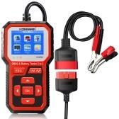 KONNWEI KW681 2 в 1 автомобильный тестер аккумулятора для мотоциклов и диагностический сканер OBDII