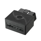 OBD GPS Tracker Автомобиль Mini GSM OBDII Автомобильная система слежения за устройством Plug and Play с программным обеспечением и APP