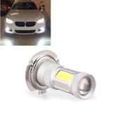 1 Pcs High Power COB LED Fog Light H7 Car Driving Lamp 80W