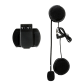 VNETPHONE V4 V6 Intercom Accessories Microphone Speaker & Clip for V4 V6 Helmet Intercom Motorcycle BT Interphone 3.5mm Jack Plug