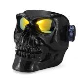 Máscara de capacete de óculos de motocicleta Esqui ao ar livre Crânios de motocross Vidros de vento a prova de vento Equipamento para impermeabilização Kinight Sandproof