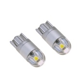 2pcs T10 3030 LED Auto Light Bulbs High Power Highlight Turn Signal Lights Lamp Bulbs Ultra Bright Car LED Lamps Bulb