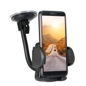 """Support universel pour téléphone portable avec fixation pour téléphone pour pare-brise de voiture adapté au remplacement de support pour téléphone portable dans le tableau de bord et le pare-brise pour iPhone Andriod (2 """"-5,5"""")"""