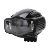 Светодиодные противотуманные фары для мотоциклов Прожектор Водонепроницаемые и пыленепроницаемые дневные ходовые огни с зарядкой от USB Универсальная замена