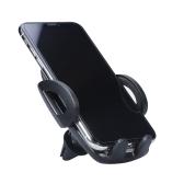 Cargador inalámbrico para automóvil Cargador inalámbrico para automóvil con 2 en 1 Función Air Vent Phone Holder