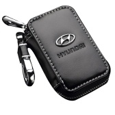 Real Leather Car Key Case Keys Cover Holder Bag