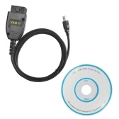 Auto Diagnostic Tool VAG 17.1.3 HEX+CAN USB Interface Car Fault Diagnosis Wire (German/English)