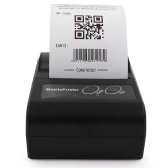 Portable Label Printer BT Thermal Barcode Printer High-speed and Clear Printing Smart Phone Control Compatible with IOS Android Computer