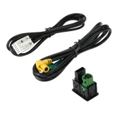AUX USB áudio cabo Switch Plug para VW Passat B6 B7 CC Touran POLO Facelift RCD510 + / 310 +