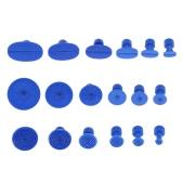 18pcs Niebieskie nasadki ściągaczy