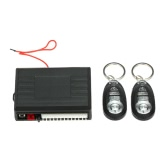 Sistema de Entrada de Keyless Car Door Lock com a tecla Trunk Lançamento & Corno Controle Remoto Central Locking Kit para VW