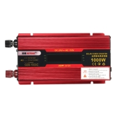 1000W WATT Peak Car LED Power Inverter DC 12V para AC 110V Dual Converter Charger