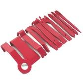 13 pcs Pry Ferramenta de Desmontagem de Áudio Do Carro Vermelho Auto Dash Tirm Painel Instalador Remoção de Abertura Ferramentas de Reparação de Abertura Kit Porta Interior Conjunto de Clipe de Modelagem