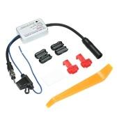 Pour Universal 12 V Auto Voiture Radio FM Antenne Signal Amp Amplificateur Booster Pour Marine Voiture Véhicule Bateau FM Amplificateur